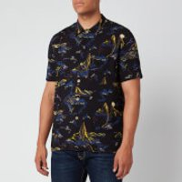 PS Paul Smith Men's Short Sleeve Shirt - Black - M