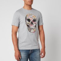 PS Paul Smith Men's Skull T-Shirt - Grey - XXL