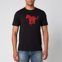 PS Paul Smith Men's Devil Zebra T-Shirt - Black - L