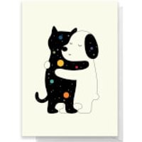 Andy Westface Universal Language Greetings Card - Large Card