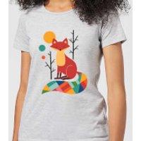 Andy Westface Rainbow Fox Women's T-Shirt - Grey - XXL - Grey