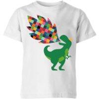 Andy Westface Rainbow Power Kids' T-Shirt - White - 9-10 Years - White