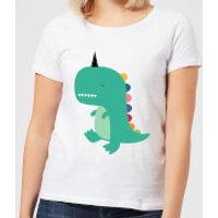 Andy Westface Dinocorn Women's T-Shirt - White - 3XL - White
