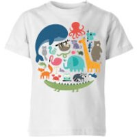 Andy Westface We Are One Kids' T-Shirt - White - 5-6 Years - White