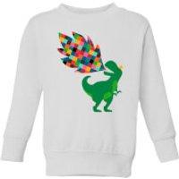 Andy Westface Rainbow Power Kids' Sweatshirt - White - 11-12 Years - White