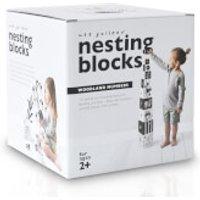 Wee Gallery Nesting Blocks - Woodland Number