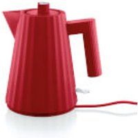 Alessi Electric Kettle - Plisse Red - 1L