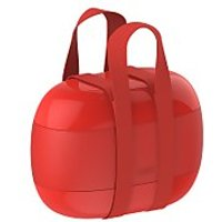 Alessi Lunch Box Food a Porter - Red