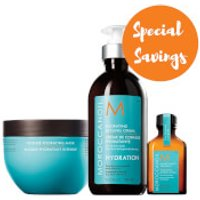 Moroccanoil Hydration Collection with Wash Bag (Worth £63.35)