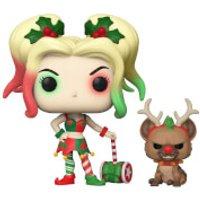 Image of DC Comics Holiday Harley Quinn With Helper Pop! Vinyl Figure