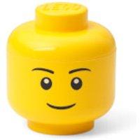 'Lego Storage Mini Head - Boy