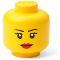 'Lego Storage Mini Head - Girl