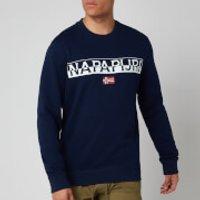 Napapijri Men's Baras C Sweatshirt - Medieval Blue - L