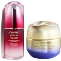 Shiseido Vital Perfection Uplifting Day Cream and Ultimune 50ml Bundle
