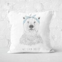 We Can Do It Cushion Square Cushion - 60x60cm - Soft Touch