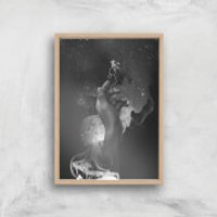 I Let You Go Now Giclee Art Print - A2 - Wooden Frame