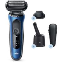 Braun Series 6 Electric Shaver - Blue - Smart Care Centre