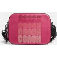 Coach Women's C Print Camera Bag - Bright Cherry Multi