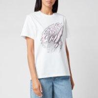 Ganni Women's Basic Cotton T-Shirt - Bright White - L