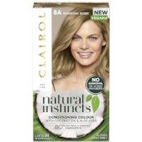 Clairol Natural Instincts Semi-Permanent No Ammonia Vegan Hair Dye 177ml (Various Shades) - 8A Mediu