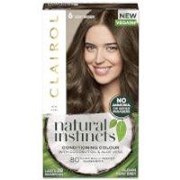 Clairol Natural Instincts Semi-Permanent No Ammonia Vegan Hair Dye 177ml (Various Shades) - 6 Light