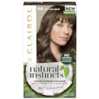Clairol Natural Instincts Semi-Permanent No Ammonia Vegan Hair Dye 177ml (Various Shades) - 6A Light