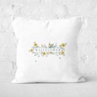 Wallflower Square Cushion - 40x40cm - Soft Touch