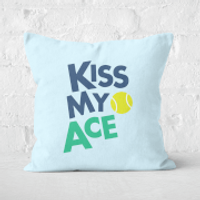 Kiss My Ace Square Cushion - 40x40cm - Soft Touch