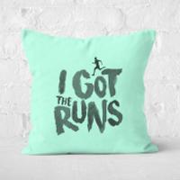 I Got The Runs Square Cushion - 40x40cm - Soft Touch