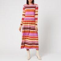 Stine Goya Women's Joel Jersey Midi Dress - Stripes - L