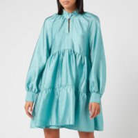 Stine Goya Women's Jasmine Tiered Mini Dress - Aqua - L