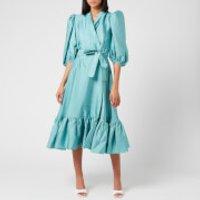 Stine Goya Women's Chinie Wrap Dress - Aqua - S
