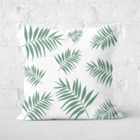 Earth Friendly Leaves Square Cushion - 60x60cm - Soft Touch