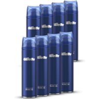Gillette Fusion5 Ultra Sensitive Shaving Gel 200ml (8 Pack - 12 Month)