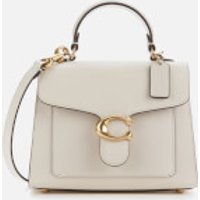 Coach Women's Mixed Leather Tabby Top Handle 20 Bag - Chalk