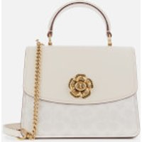 shop for Coach Women's Parker Top Handle Bag - Chalk at Shopo