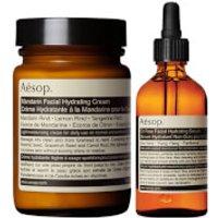 Aesop Mandarin Facial Cream and Lightweight Serum Duo (Worth PS98.00)