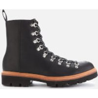 Grenson Men's Brady Leather Hiking Style Boots - Black - UK  9