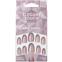 Elegant Touch Mauve Madness Nails