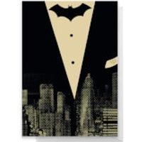 Batman Tuxedo Greetings Card - Standard Card