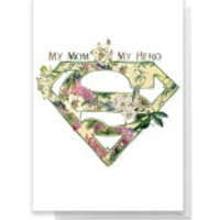 Superman Mother's Day Greetings Card - Standard Card