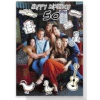 Friends Birthday 50th Greetings Card - Standard Card