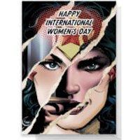 Wonder Woman International Women's Day Greetings Card - Standard Card