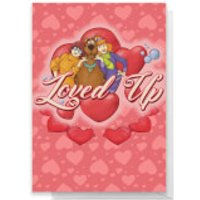Scooby Doo Valentines Loved Up Greetings Card - Standard Card