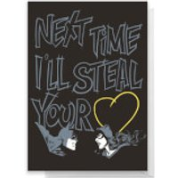 DC Valentine's Day Greetings Card - Standard Card