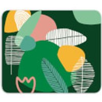 Earth Garden Print Mouse Mat
