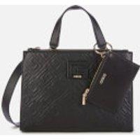 Guess Womens Janay Status Handbag - Black