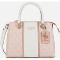 Guess Women's Cathleen 3 Compartment Satchel - Blush