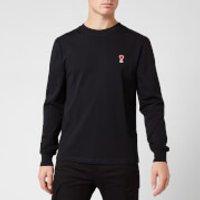 AMI Men's T-Shirt - Noir - L