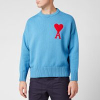 AMI Men's Coeur Jumper - Blue - XL